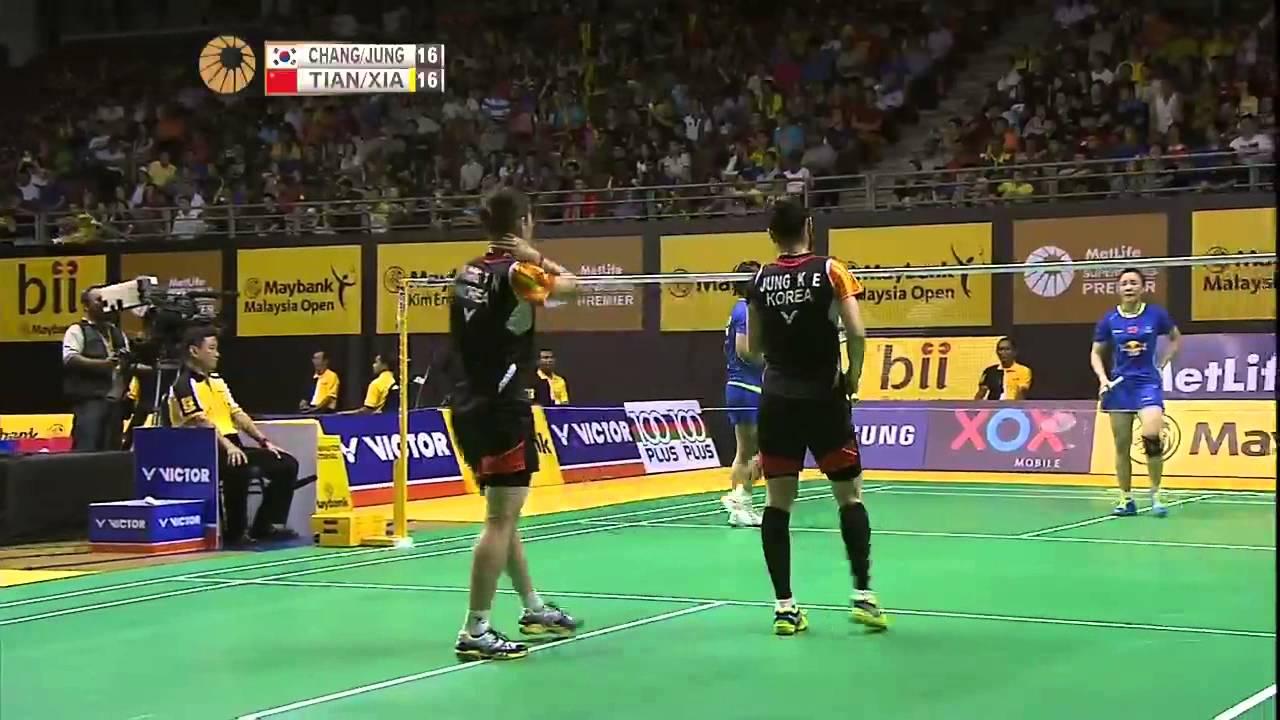 Chang Ye Na Jung Kyung Eun vs Xia Huan Tian Qing
