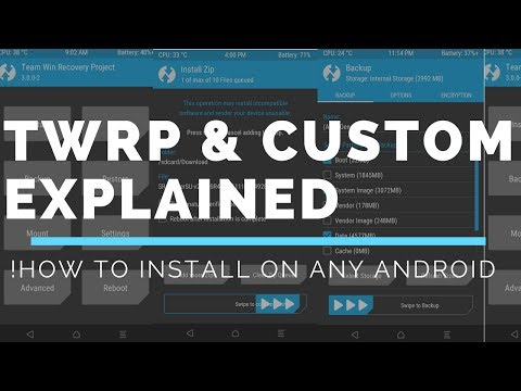 What is TWRP Recovery? | Custom Recoveries Explained!