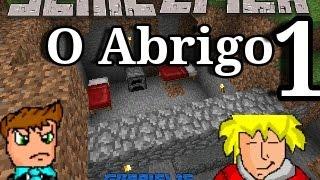 Minecraft Pe - Série Épica Multiplayer!!!! - ep 1/O Abrigo!!!