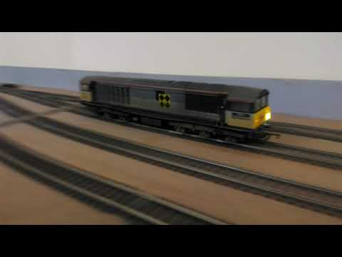 Hornby class 58 with express models lighting kit