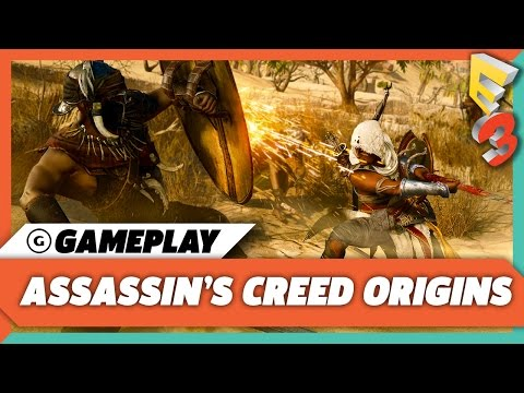 30 Minutes of Assassin's Creed Origins Gameplay on Xbox One X  | E3 2017
