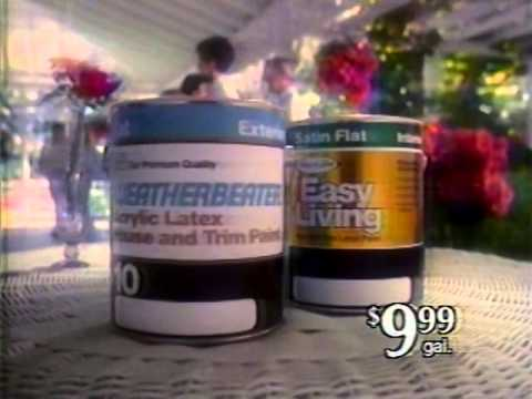 80 S Ads Sears Weatherbeater And Easy Living Paint