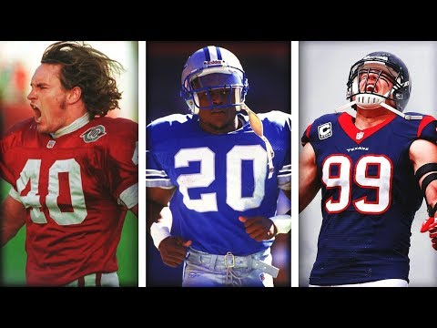 Every NFL Team's Most FAMOUS Jersey Number... And The Players Who Wore It