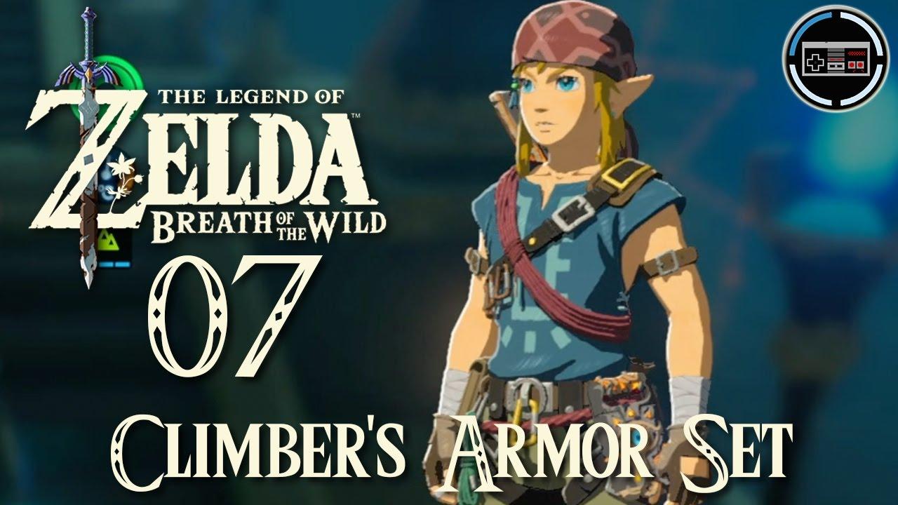 Kletterausrüstung Zelda Breath Of The Wild : The legend of zelda breath wild die kletterrüstung