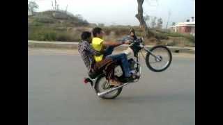 Bike wheeling in Narowal by Golden