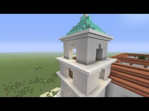 Mission San Luis Rey de Francia (recreated in Minecraft) - b