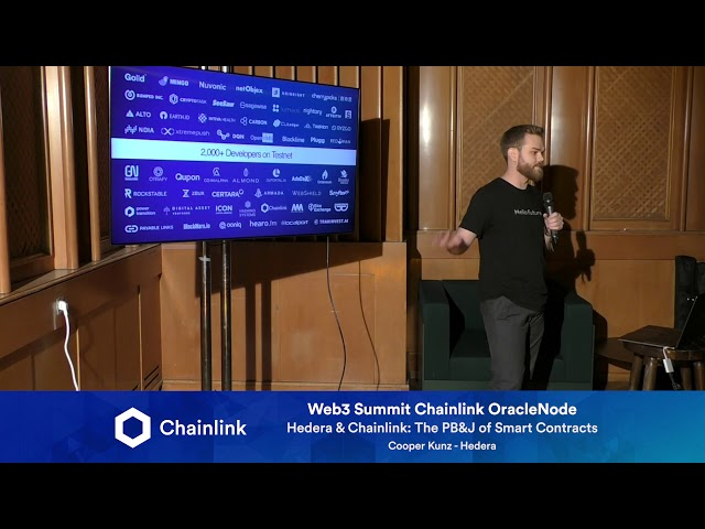 Chainlink Web3 Summit HackerNode: Hedera & Chainlink: The PB&J of Smart Contracts