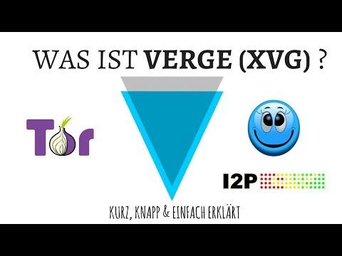 FFDK COINDAY / WAS IST VERGE XVG ? ANONYMER ALS BITCOIN & MONERO? TOR & I2P -XVG POTENZIAL ?
