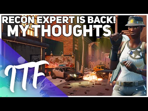 RECON EXPERT IS BACK! Next Rarest Skin? What's Next? (Fortnite Battle Royale)