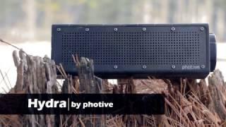 Photive HYDRA Portable Waterproof Bluetooth Speaker