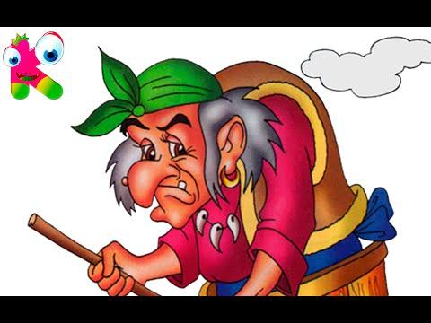 БАБА - ЯГА И ЯГОДЫ сказки для малышей #Живые картинки #UKA