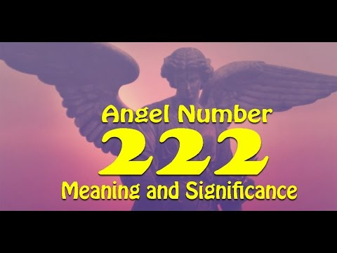 Angel Number 222 : Significance and Meaning