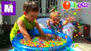 ORBEEZ шарики целый бассейн с сюрпризами игрушками Орбиз Challenge super sour Warheads