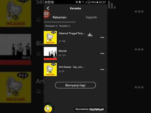 .Joox Karaoke Sham zero..song   Selamat Tinggal Terpuruk //soog ..Biarlah PAS BAND...