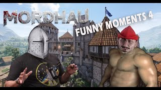 Mordhau with a dancer Mario