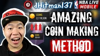 Amazing Coin Making Method - Make Money Fast - Nba Live Mobile Coin Making Guide