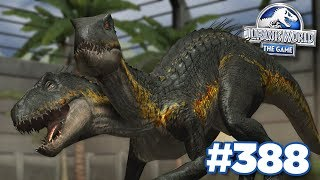 FUSING 2 INDORAPTORS TOGETHER!!! | Jurassic World - The Game - Ep388 HD