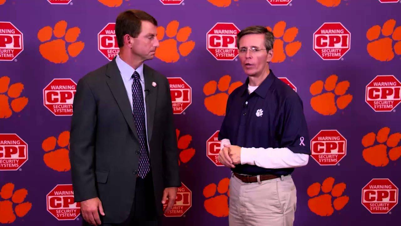 Clemson Football || Coach Swinney Previews #LOUvsCLEM ...