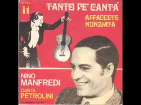 NINO MANFREDI - TANTO PE CANTA' (1970).wmv