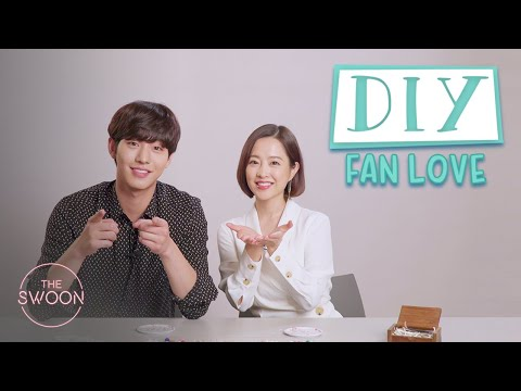 Park Bo-young And Ahn Hyo-seop Make Bracelets For Their Fans | DIY Fan Love [ENG SUB]