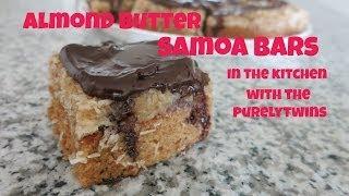 Almond Butter Samoa Bars (paleo, Vegan, Grain-free)
