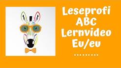 Leseprofi-ABC - Lernvideo Eu/eu