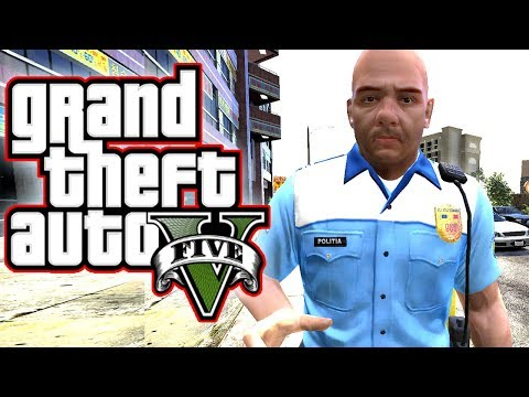 ACCIDENT GRAV - POLITIA ROMANA IN GTA 5 !