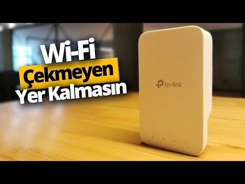 TP-Link RE300 Menzil Genişletici İnceleme - Wi-Fi çekmeyen yer kalmasın!