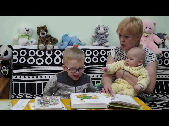 Изображение предпросмотра прочтения – АлександраБукреева читает произведение «Мойдодыр» К.И.Чуковского