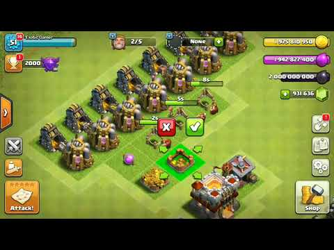 Clash of clans | hack mod | unlimited gold | unlimited elixir & dark elixir