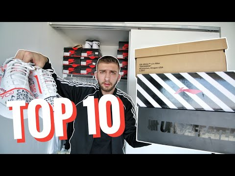 TOP 10 Sneakers for SUMMER 2018!