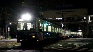 京阪石山坂本線 車両故障による救援列車 603編成+809編成