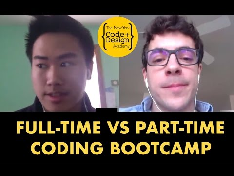 Full-Time vs Part-Time Coding Bootcamp - What's Right for You?