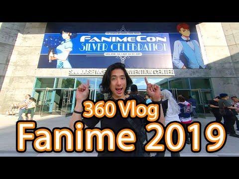 [360 Vlog] Fanime 2019