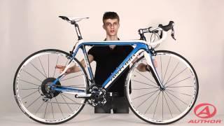 Шоссейный велосипед Author CA55(Велосипед author CA55 это шоссейный карбоновый велосипед, который можно отнести к gt классу в велосипедах. Купить..., 2012-05-24T03:49:48.000Z)