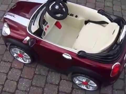 knuffels meer kinder accu auto mini cooper sport 2 x 6. Black Bedroom Furniture Sets. Home Design Ideas