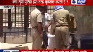 Uttar Pradesh: Policemen torture accused in Hamirpur