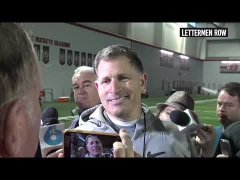 Greg Schiano: Ohio State defensive coordinator talks Nick Bosa - October 16, 2018