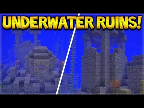 NEW OCEAN STRUCTURES! ARE THEY GOING TO BE DUNGEONS!?!? Underwater Ruins!