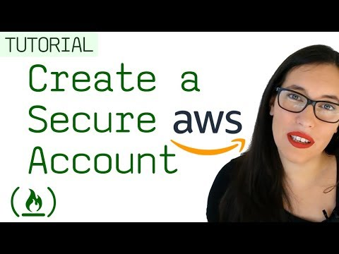 Create a secure free AWS account
