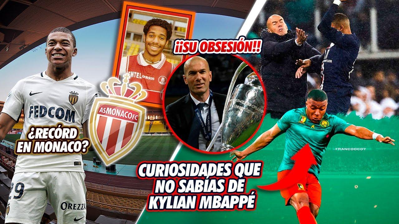7 CURIOSIDADES que seguro NO SABÍAS de Kylian Mbappé ¡LA NÚMERO 2 ES SU OBSESIÓN!
