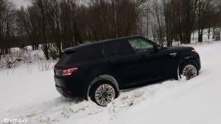 Snow Block Of Range Rover Sport