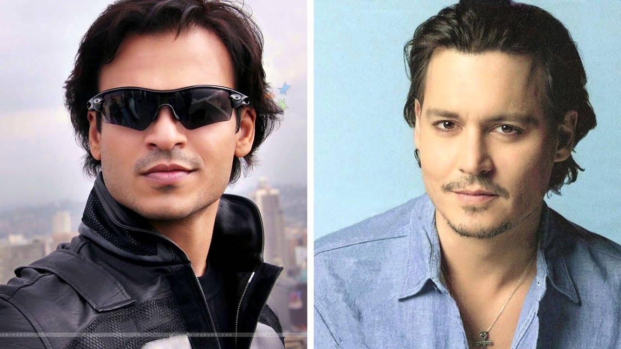 Vivek Oberoi And Johnny Depp Do They Look Alike Youtube
