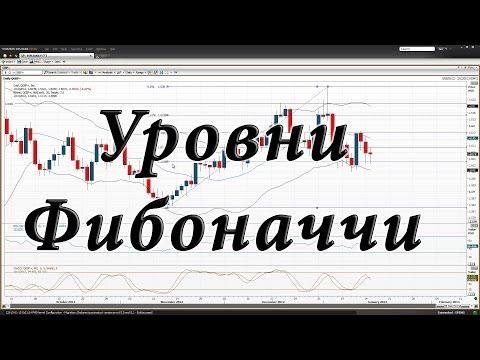 Уровни Фибоначчи в бинарных опционах - видео пример торговли