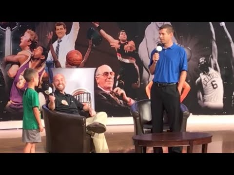Kid Asks Celtics Coach Why He Traded Isaiah Thomas