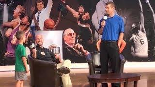 Kid Asks Celtics Coach Why He Traded Isaiah Thomas