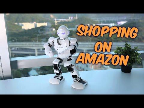 Shopping on Amazon-UBTECH Alpha 1S - The Fun Family Robot
