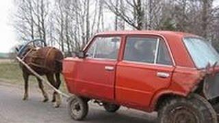 Смешные ситуации на дорогах Дорожные приколы