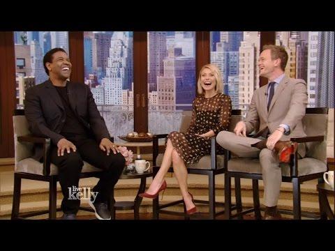 Denzel Washington's Wife Has Fun at the Golden Globes