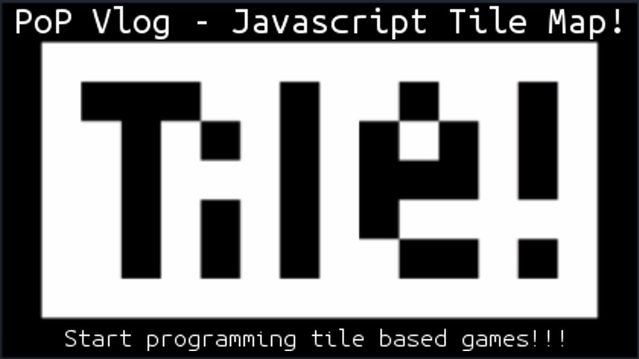 Learn How To Draw A 2d Tile Map In Javascript And Html5 Youtube